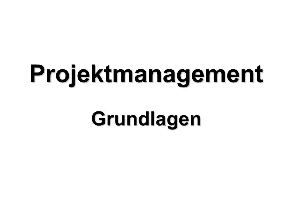 Agenda Was ist ein Projekt?...von der Idee zum Projektauftrag...von der Idee zur Lösung