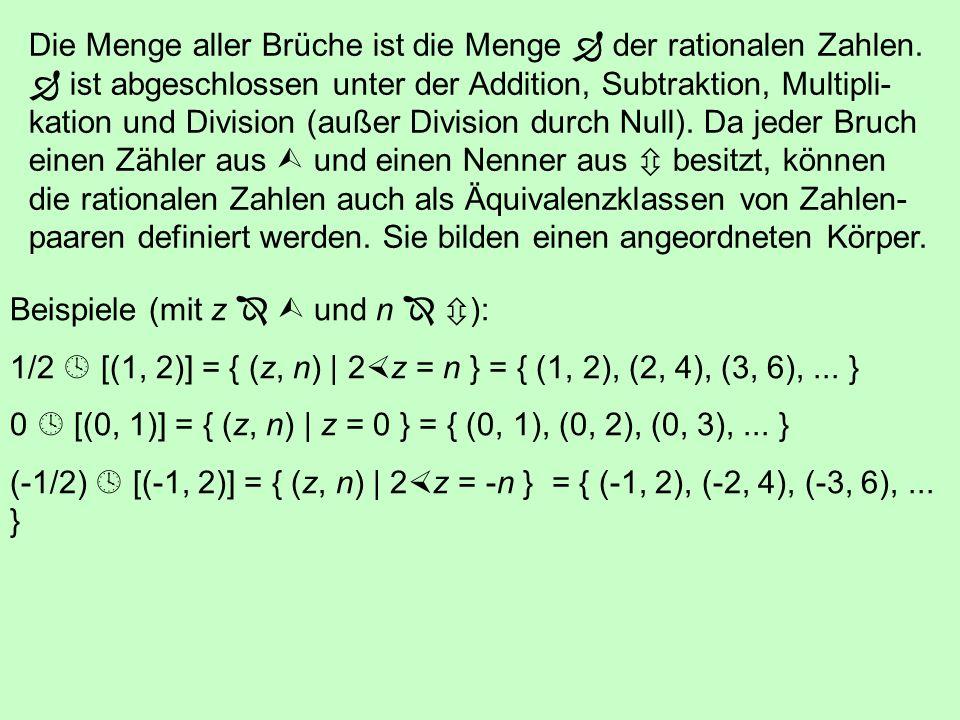 Mit Hilfe der Exponentialrechnung kann man die rationalen Zahlen als Dezimalzahlen (d) oder Binärzahlen (b) darstellen: Dezimal:725 d = 7 10 2 + 2 10