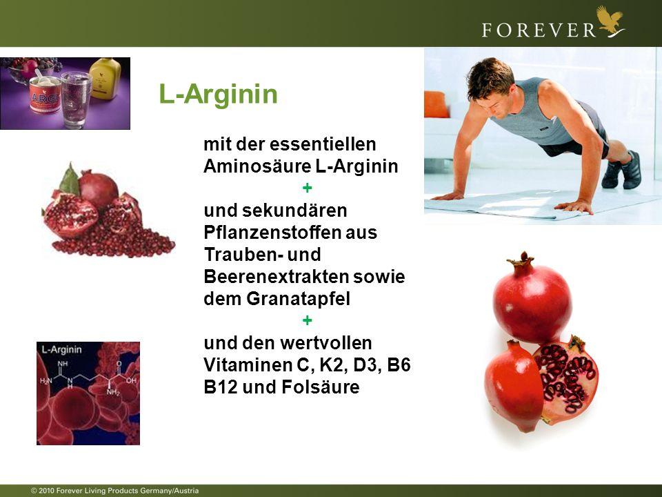 FOREVER ARGI+ Gibt Ihrem Körper die Power, die er benötigt Die ideale Kombination für ein aktives Leben voller Power.