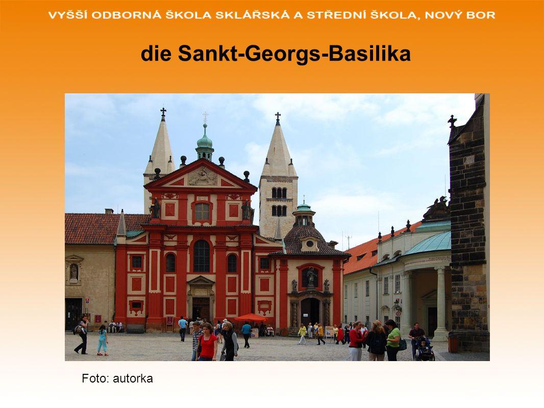 die Prager Burg Foto: autorka