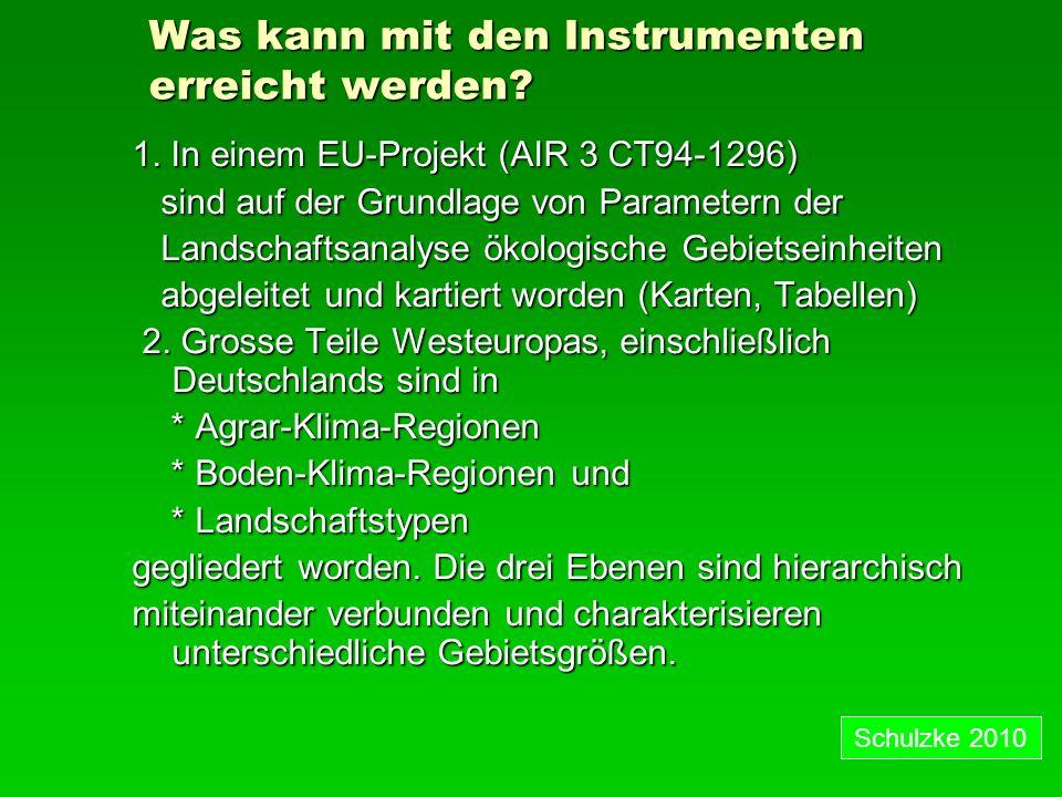 Was kann mit den Instrumenten erreicht werden.1.