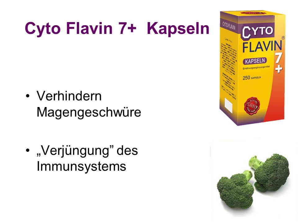 Cyto Flavin 7+ Kapseln Verhindern Magengeschwüre Verjüngung des Immunsystems