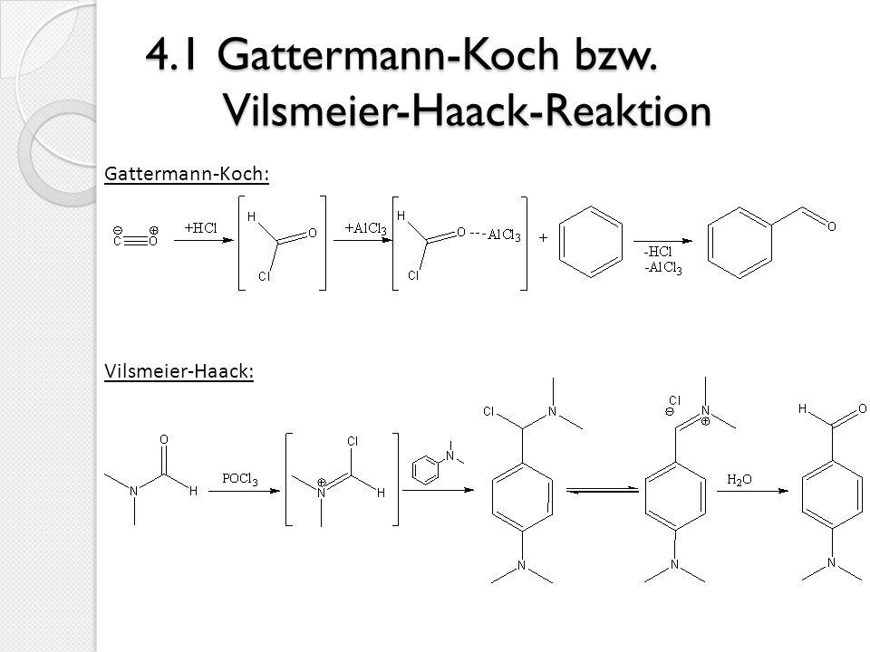 4.2 Acylierung von Phenolen und Anilinen Freie OH- und NH2-Gruppen im Aromaten behindern eine Friedel- Crafts-Acylierung, da sie selbst acyliert werden.