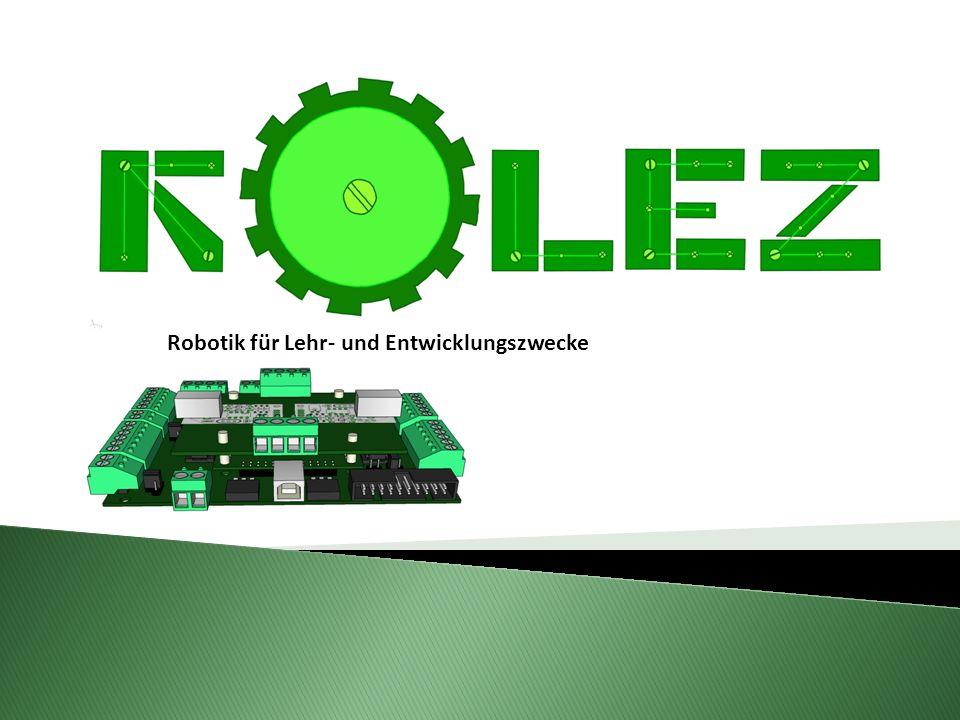 Robotik für Lehr- und Entwicklungszwecke