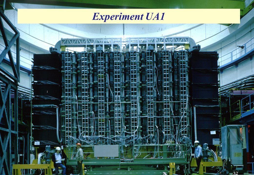 UA1-Experiment UA1-Experiment Experiment UA1 32