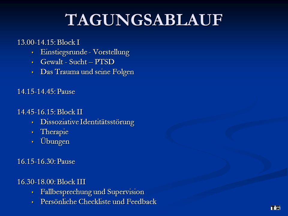 Typische Symptomatik nach Traumatisierung II 2.