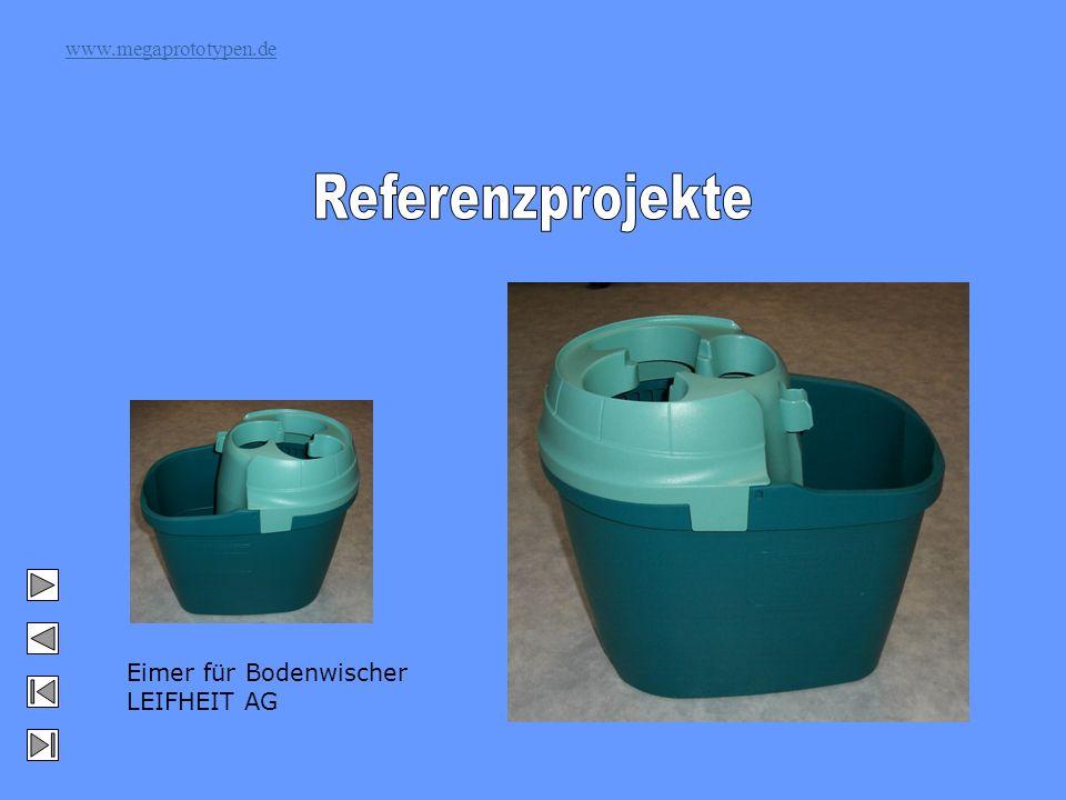 www.megaprototypen.de Eimer für Bodenwischer LEIFHEIT AG