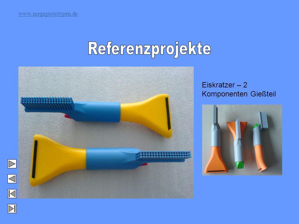 www.megaprototypen.de Eiskratzer – 2 Komponenten Gießteil