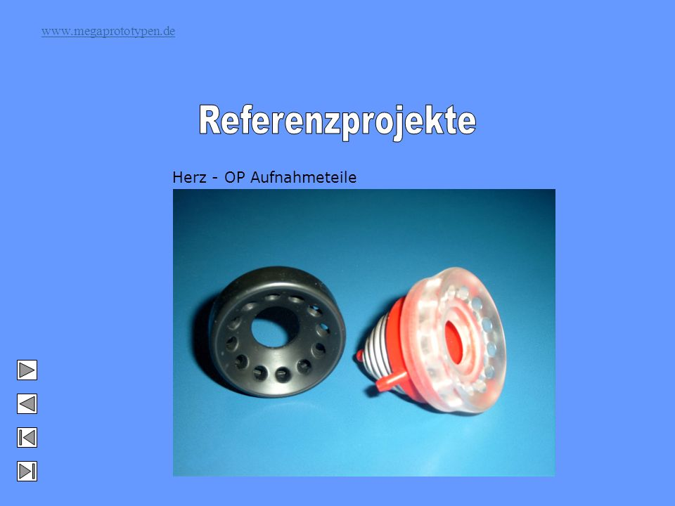www.megaprototypen.de Herz - OP Aufnahmeteile