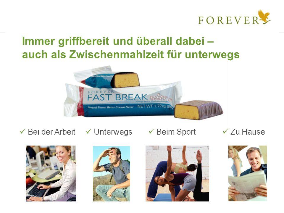 Forever Fast Break ultra – der Riegel für schnelle Power