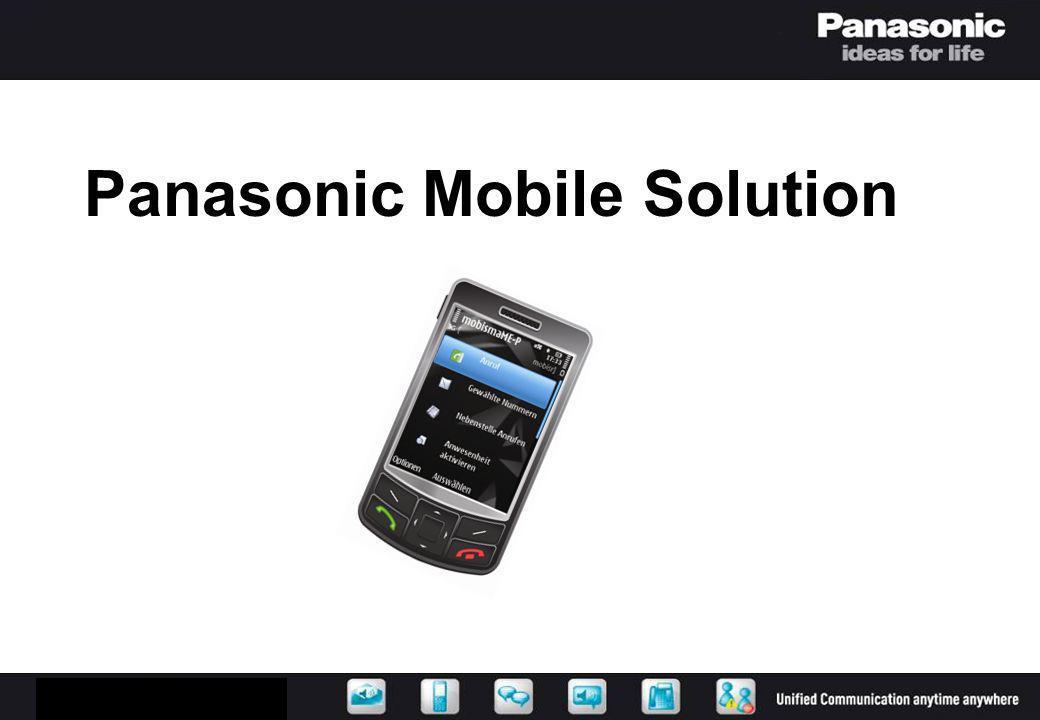 Panasonic Mobile Solution
