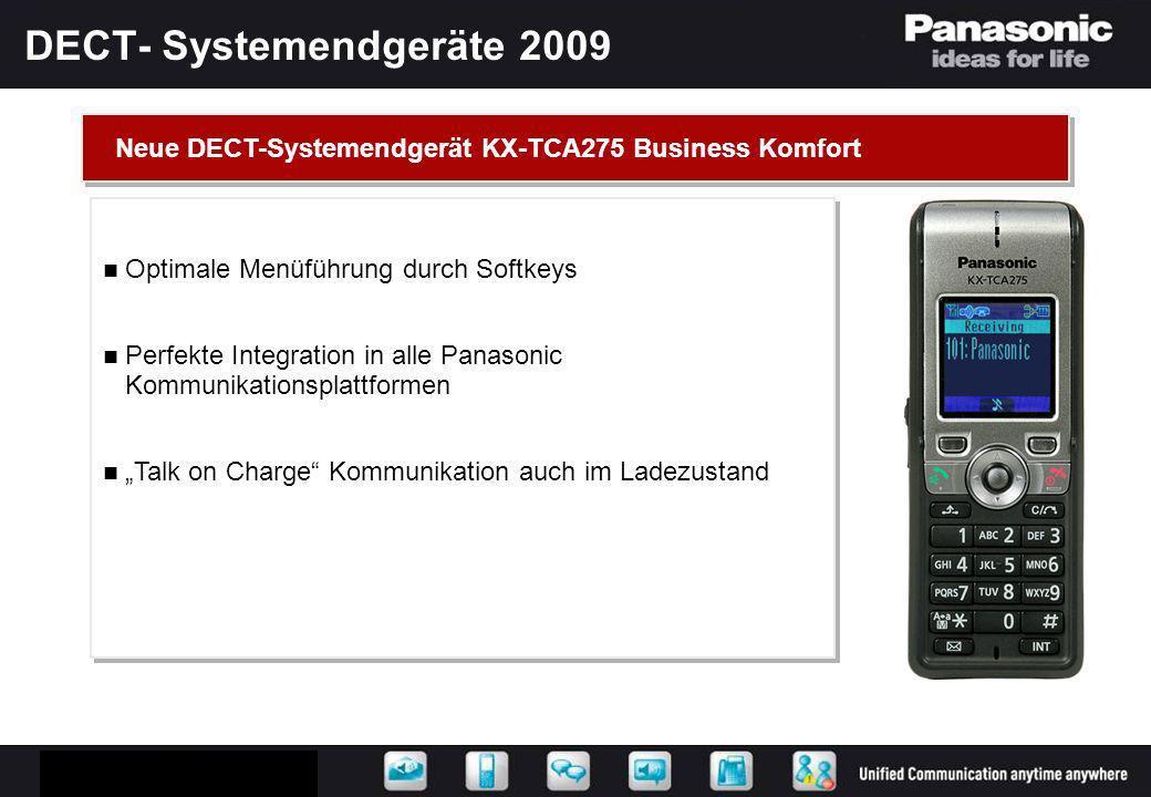 KX-NCP0158 Neue IP DECT-Basis mit LAN-Anschluss Einfache und schnelle Installation am Telekommunikationsserver Versorgung von IP-Umgebungen mit DECT Stromversorgung über PoE möglich Neue IP DECT-Basis mit LAN-Anschluss Einfache und schnelle Installation am Telekommunikationsserver Versorgung von IP-Umgebungen mit DECT Stromversorgung über PoE möglich DECT-Over-IP