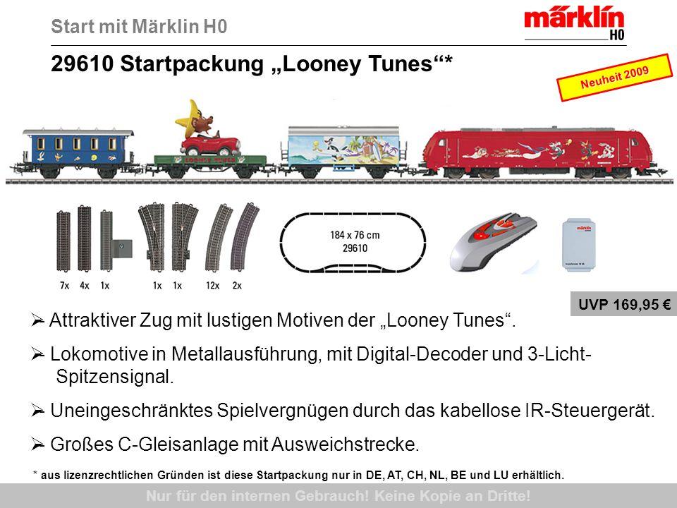 55039 Digitale Mega-Startpackung Spur 1, DB, Ep.III Start mit Märklin 1 Nur für den internen Gebrauch.