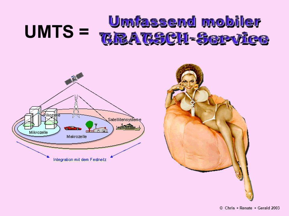 UMTS = © Chris + Renate + Gerald 2003