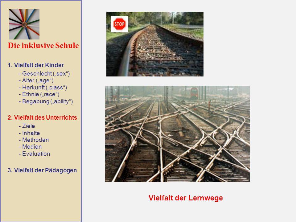 Die inklusive Schule Vielfalt der Lernwege 1.