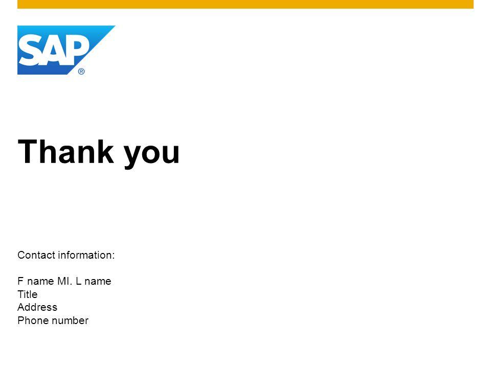 ©2013 SAP AG.All rights reserved.8 Customer © 2013 SAP AG.