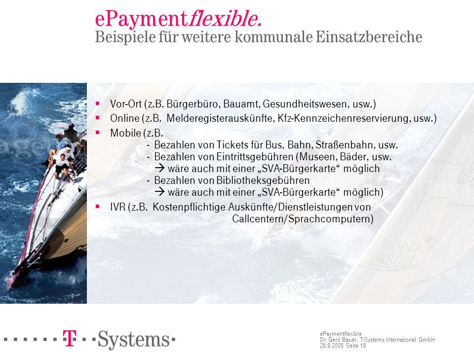 ======! §==Systems= ePaymentflexible Dr.