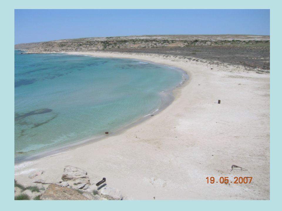 Kueste Kaspisches Meer
