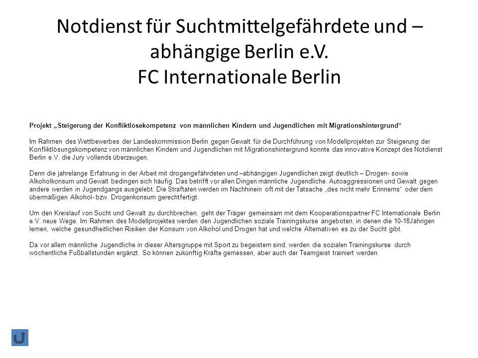 Notdienst für Suchtmittelgefährdete und – abhängige Berlin e.V.