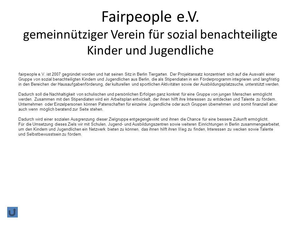 Fairpeople e.V.