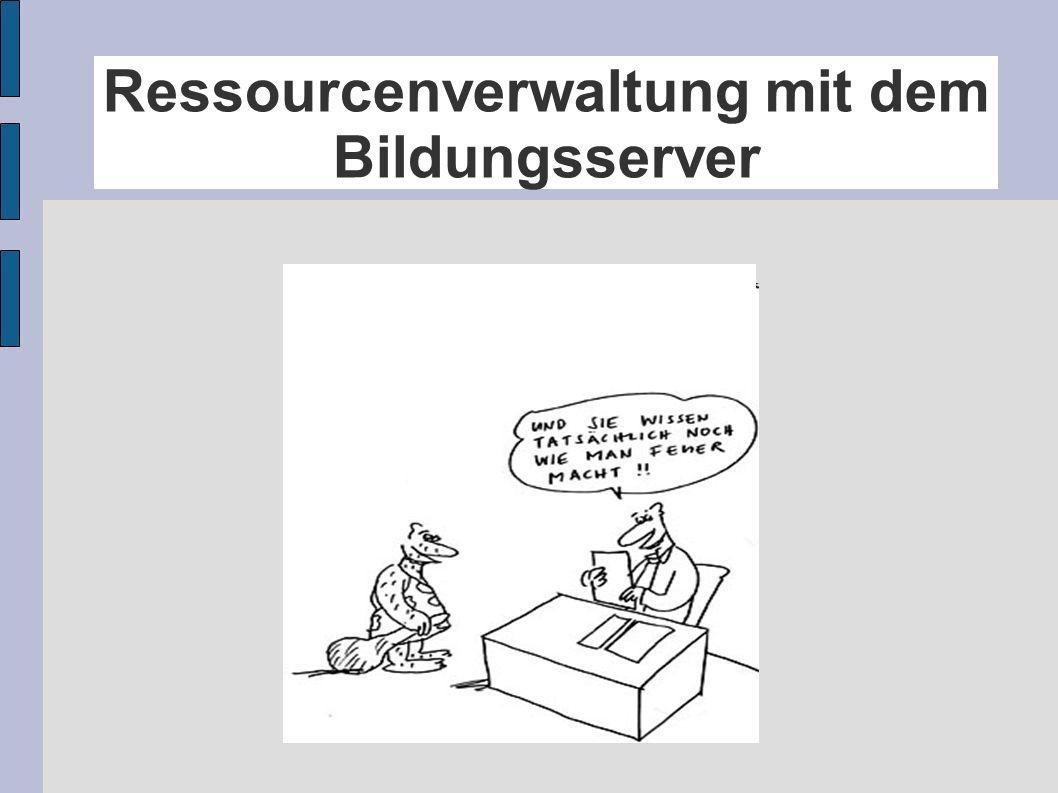 Ressourcenverwaltung 1.Begriff 2. Situation an den Studienseminaren 3.