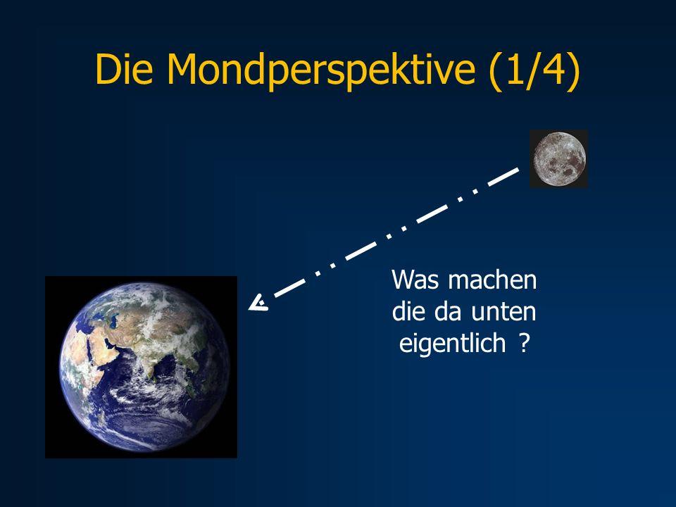 Die Mondperspektive (1/4) Was machen die da unten eigentlich ?