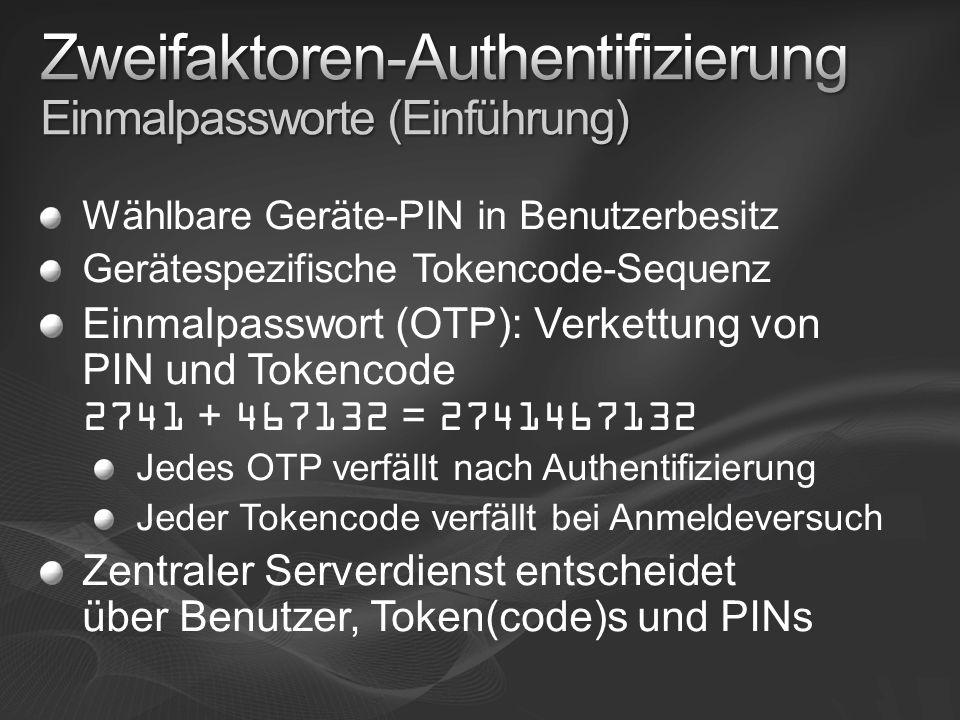 TSG Resource Authoritzation Policy Benutzerausschlüsse Serverausschlüsse Ports Terminal- server RpcProxy.dll Connection Authorization Policy SoH (NAP) Authentifizierungstyp Geräteumleitung Benutzerausschlüsse Clientausschlüsse Connection Authorization Policy SoH (NAP) Authentifizierungstyp Geräteumleitung Benutzerausschlüsse Clientausschlüsse IIS7 Bei öffentlichen Clients SoH ggf.