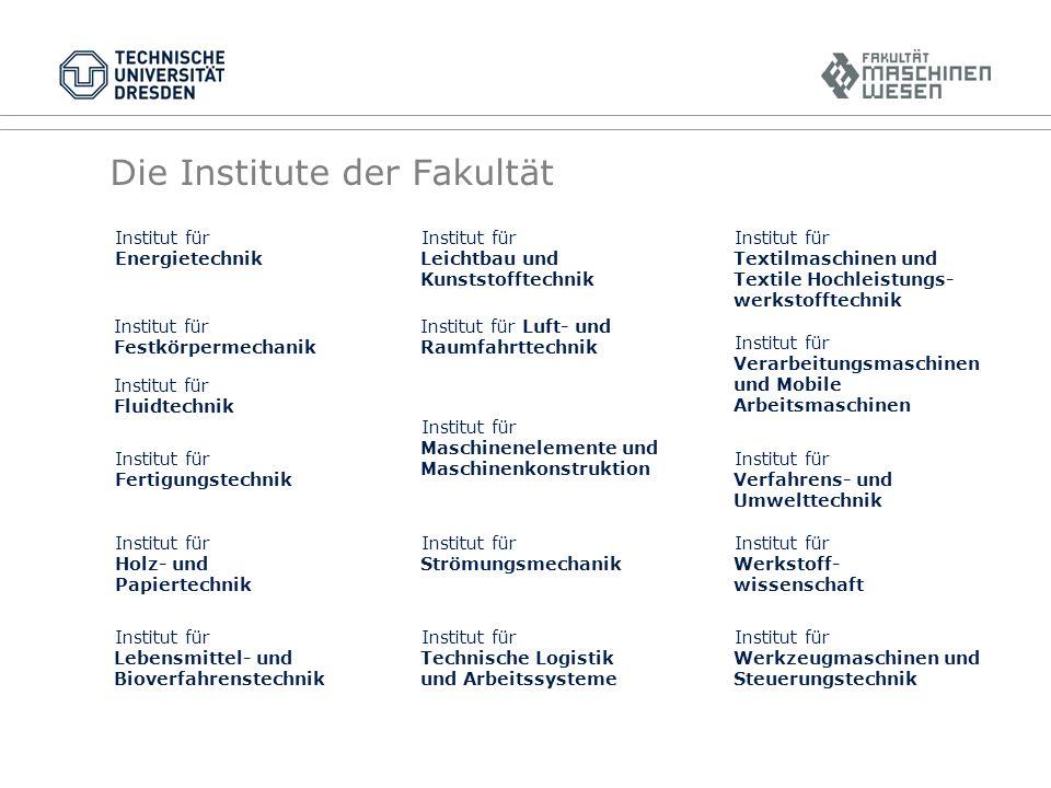 Kompetenz in Lehre und Forschung Die Fakultät bietet auch weiterhin Diplomstudiengänge an.
