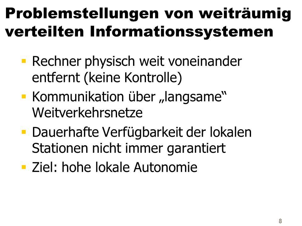 89 Fehlertoleranz: Redundanz/Replikation der DNS Root name Server Name Server für.de