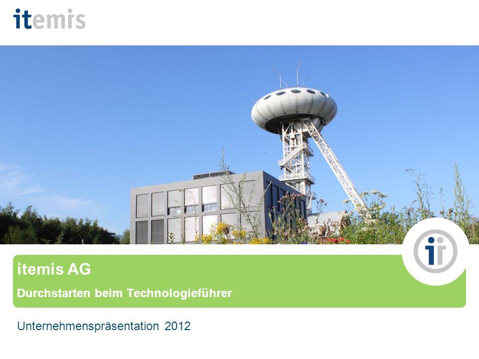 © itemis AG itemis AG Durchstarten beim Technologieführer Unternehmenspräsentation 2012