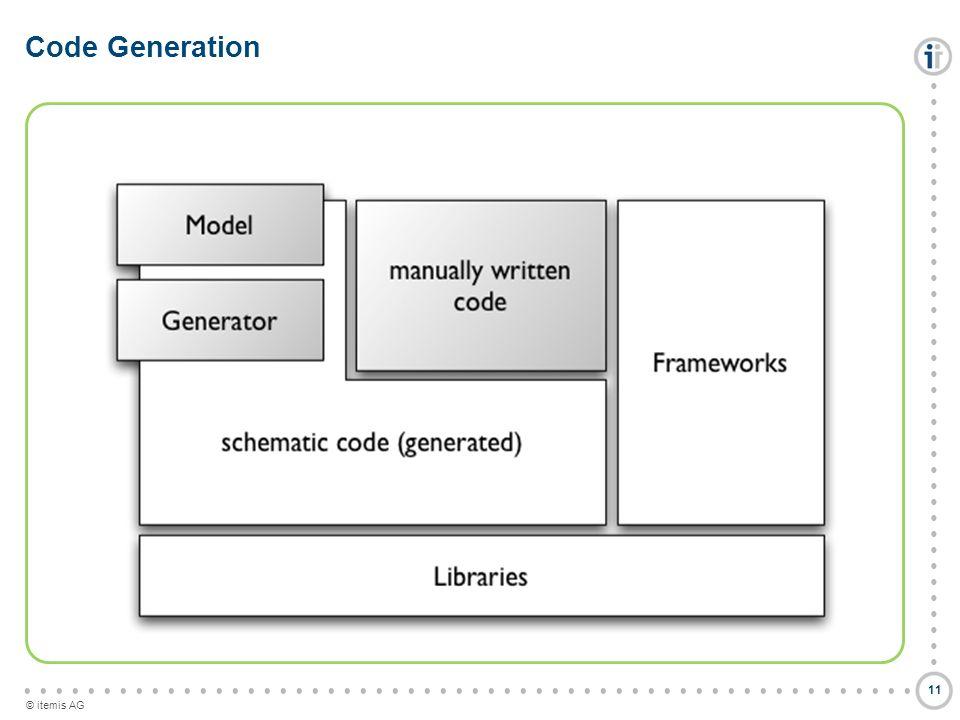 © itemis AG Code Generation 11