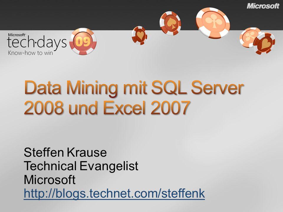 Steffen Krause Technical Evangelist Microsoft http://blogs.technet.com/steffenk