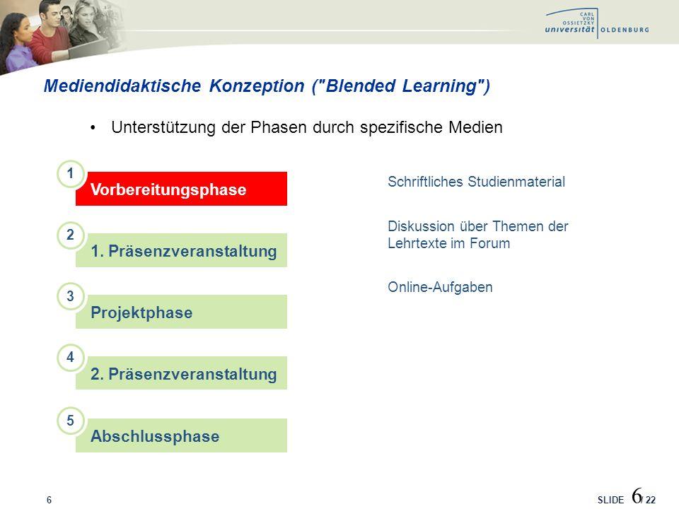 SLIDE / 22 Mediennutzungsstudie: Beteiligte Hochschulen 17