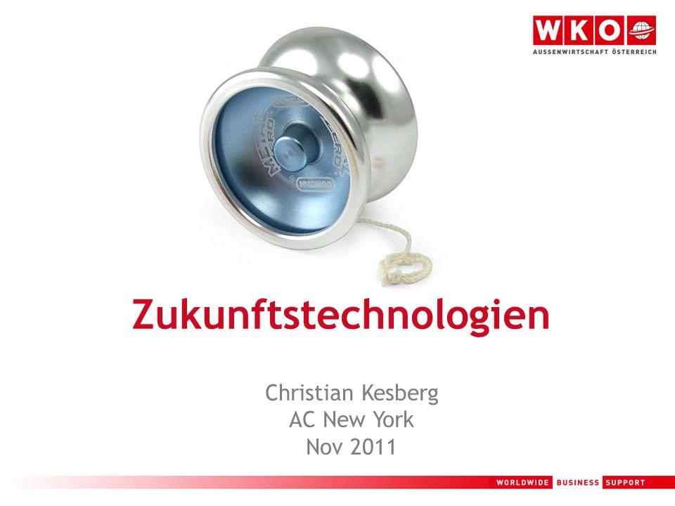 1 Zukunftstechnologien Christian Kesberg AC New York Nov 2011