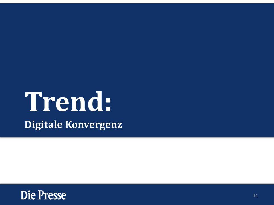 Trend: Digitale Konvergenz 11