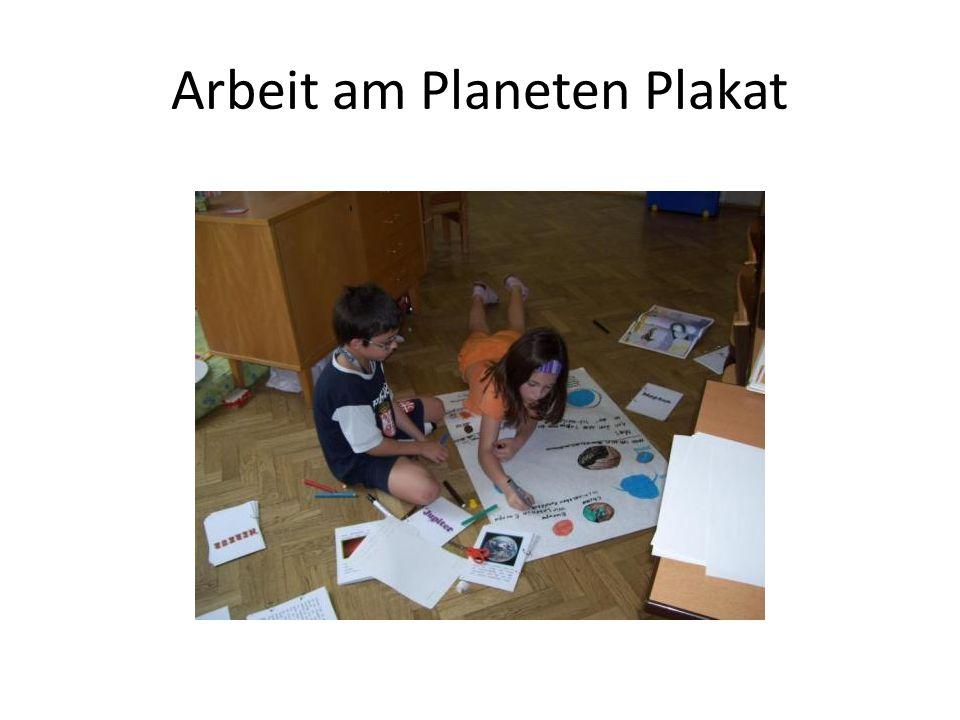 Arbeit am Planeten Plakat