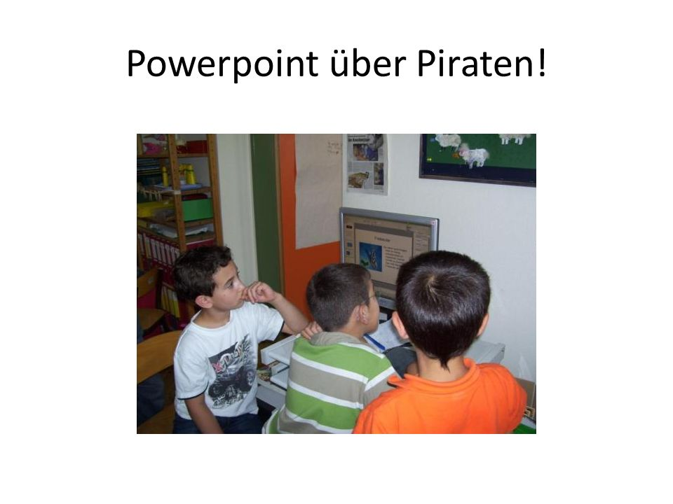 Powerpoint über Piraten!