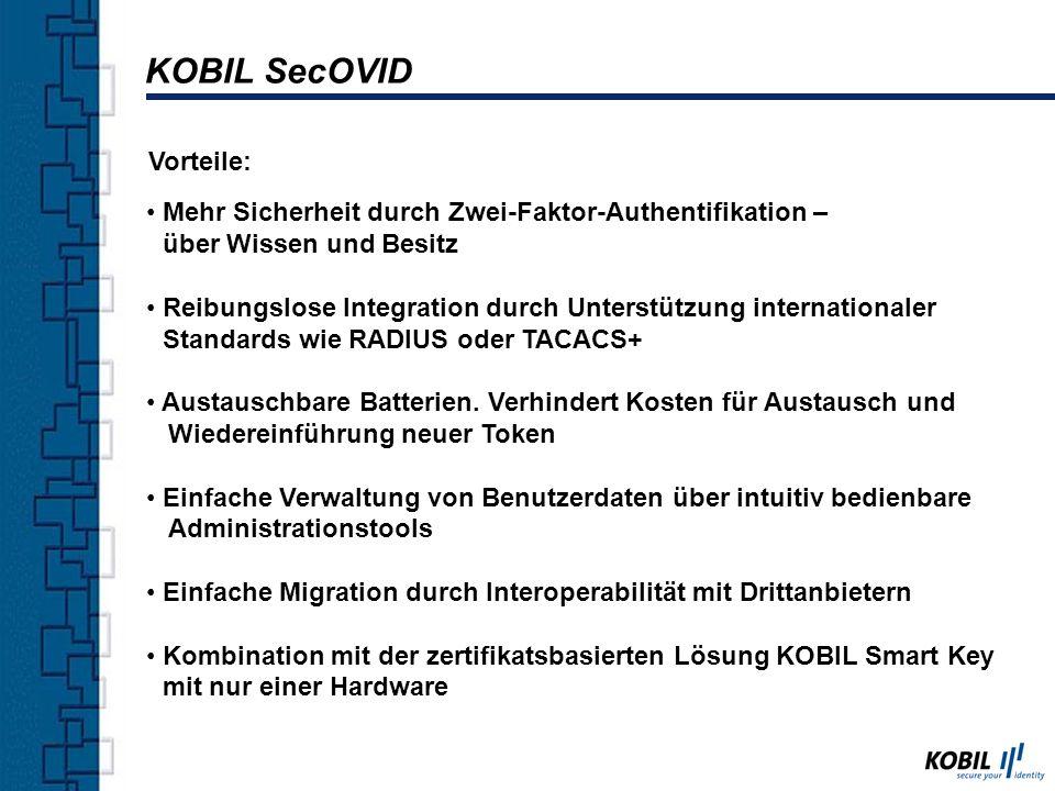 Der hochsichere Schlüssel für digitale Identität KOBIL Smart Key