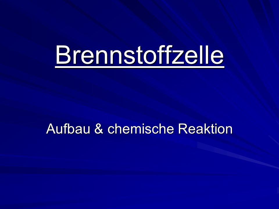 Brennstoffzelle Aufbau & chemische Reaktion
