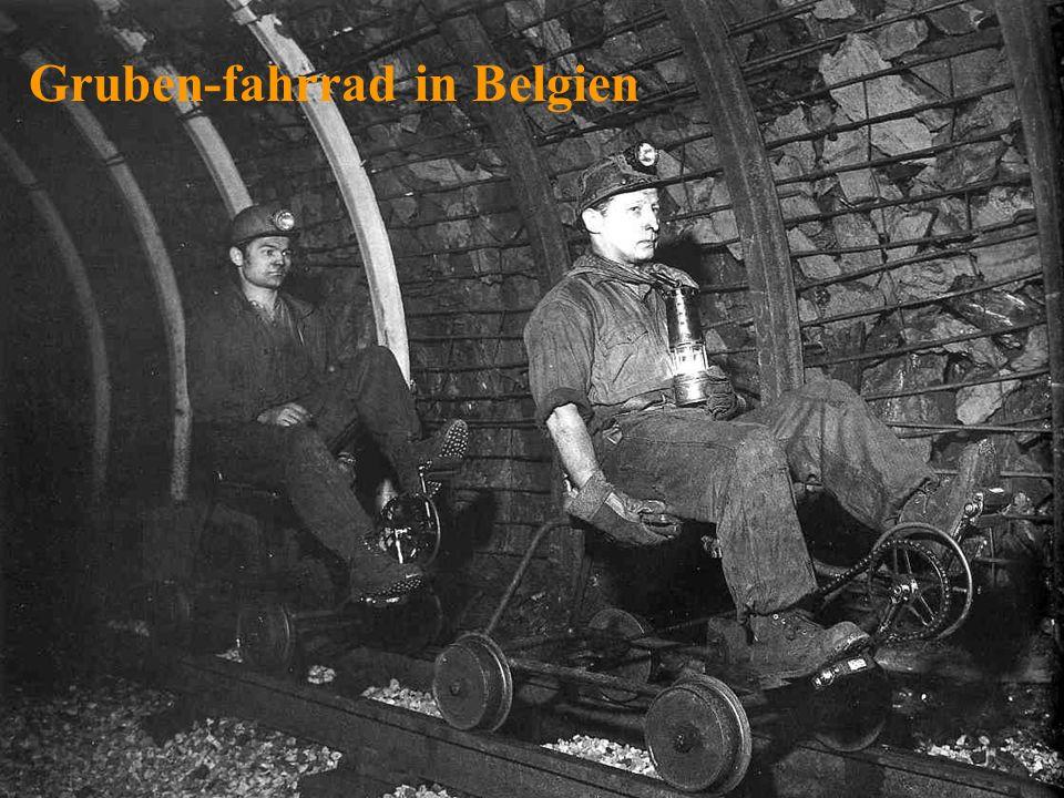 Gruben-fahrrad in Belgien