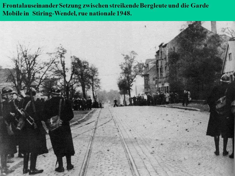 Resultat eines Schlagwetter Explosion verübt durch ein defekte Funktion von eine Diesel Lokomotive. Couillet, Belgien 17 Juni 1952 (10 tote).