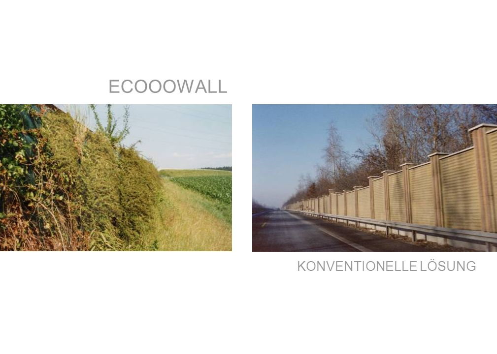 ECOOOWALL KONVENTIONELLE LÖSUNG