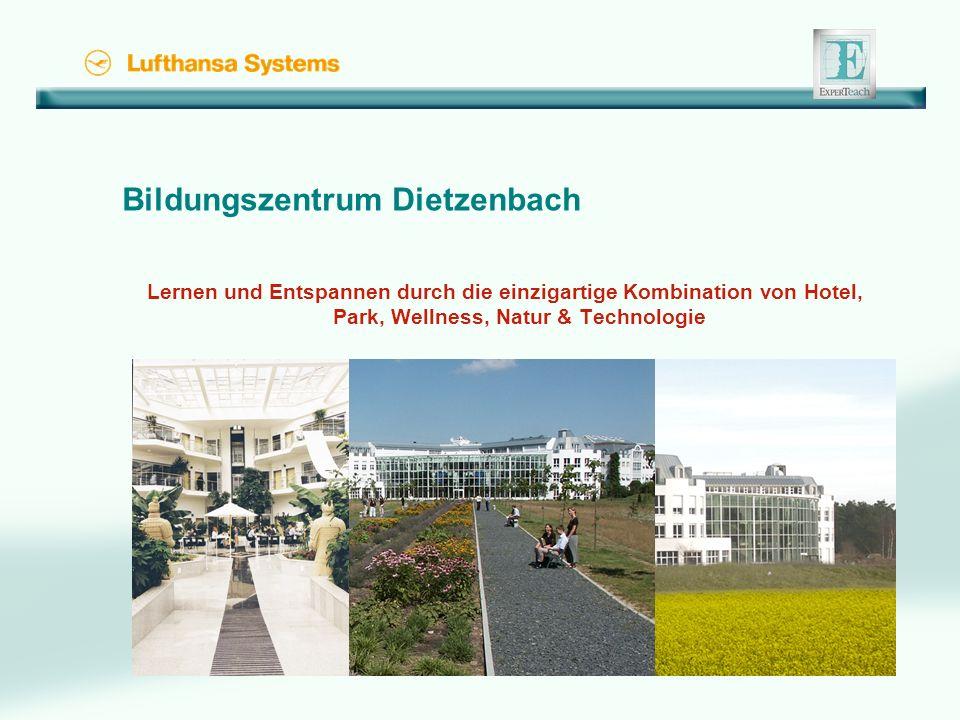 Bildungszentrum Dietzenbach Lernen und Entspannen durch die einzigartige Kombination von Hotel, Park, Wellness, Natur & Technologie