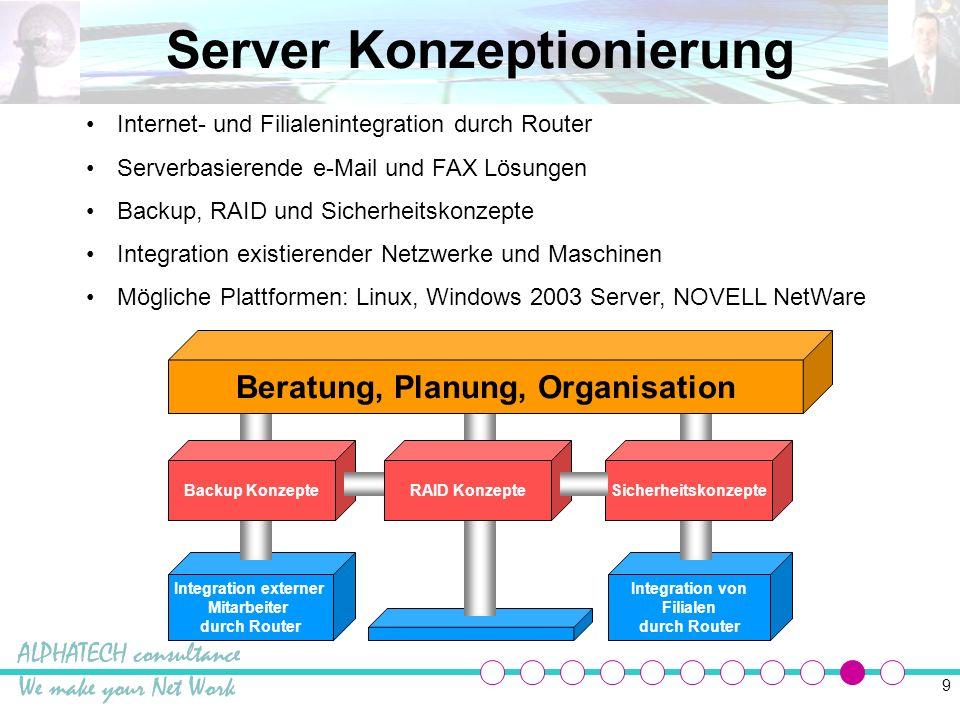 10 IT Betreuung Netzwerke können nur dann richtig funktionieren, wenn sie optimal betreut werden.