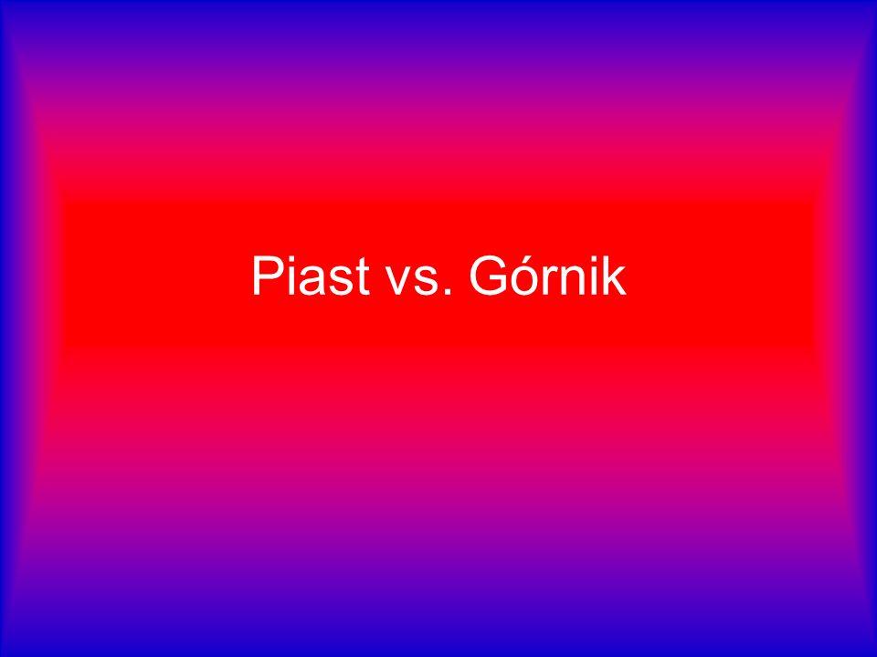 Piast Gliwice Vollständiger Name: Gliwicki Klub Sportowy Piast Farben: blau und rot Aufnahmedatum: 18.