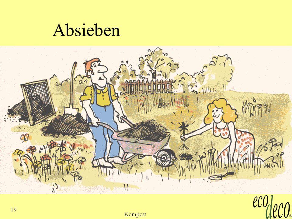 Kompost 19 Absieben