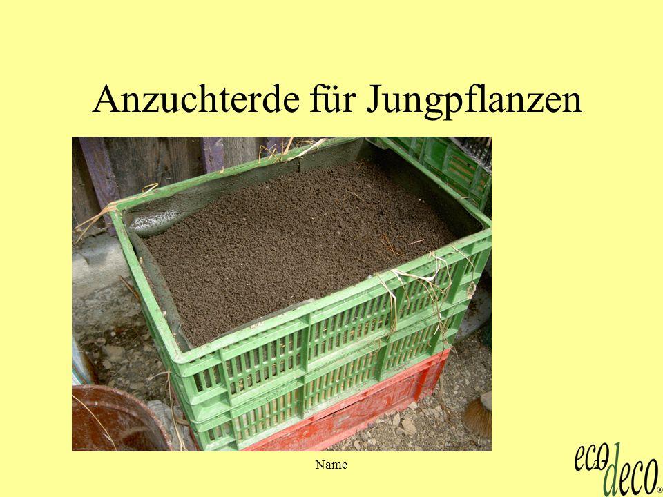 Name27 Anzuchterde für Jungpflanzen