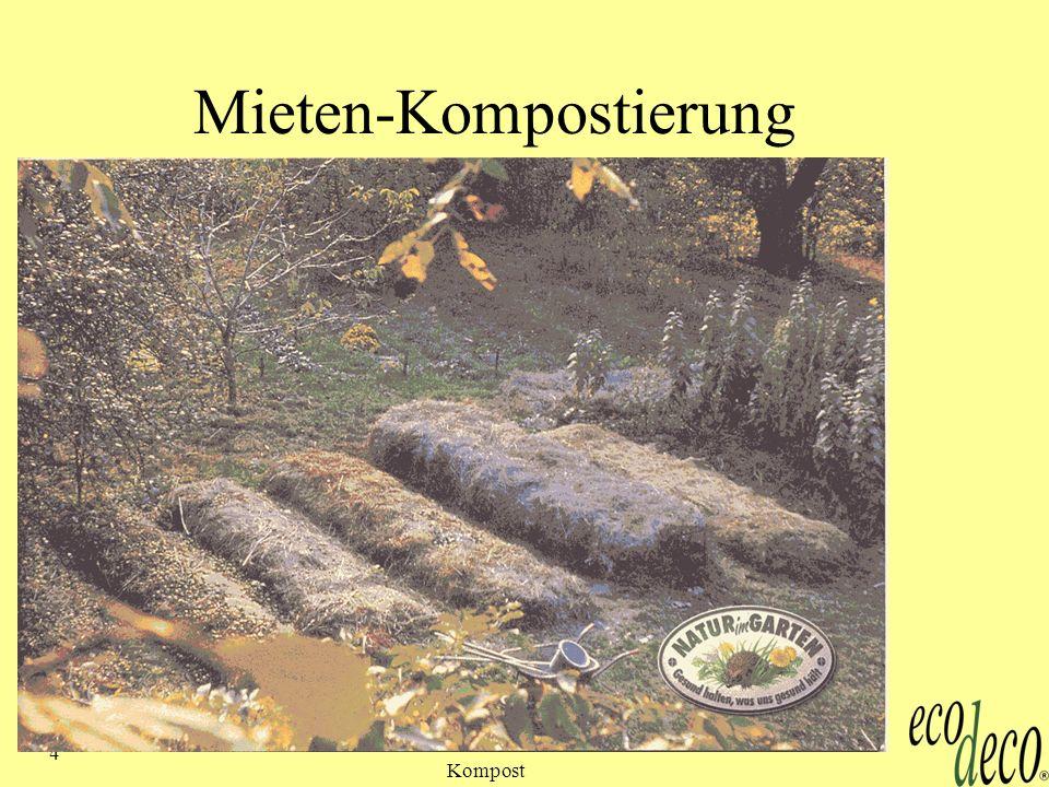 Kompost 25 Eigenbau - Wurmzucht