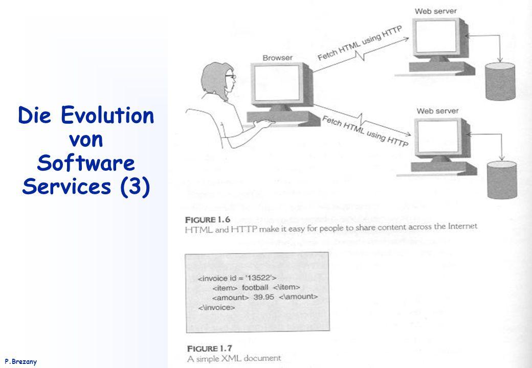 Institut für Softwarewissenschaft - Universität WienP.Brezany 31 Die Evolution von Software Services (3)