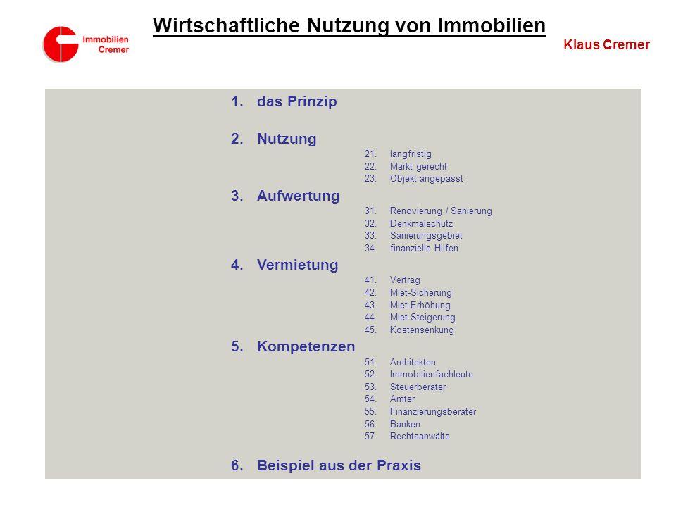 Investition im Sanierungsgebiet 1.Voraussetzungen durch die Stadt Remagen 2.